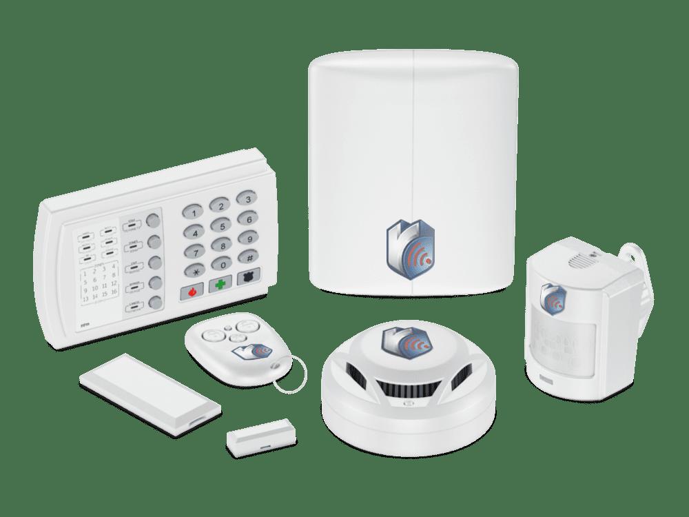 Охранная сигнализация - купить в СПб с установкой